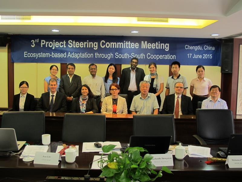 Project Steering Committee Meeting 2015 - Chengdu, China